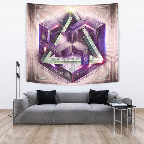 Translinguistic Equation Artwork Tapestry