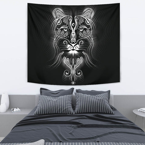Tigress Artwork Tapestry