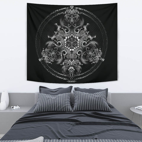 Triton's Compass Artwork Tapestry