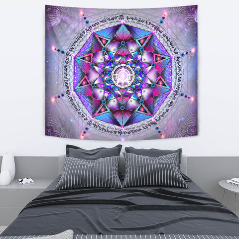 Arcturian Template Artwork Tapestry