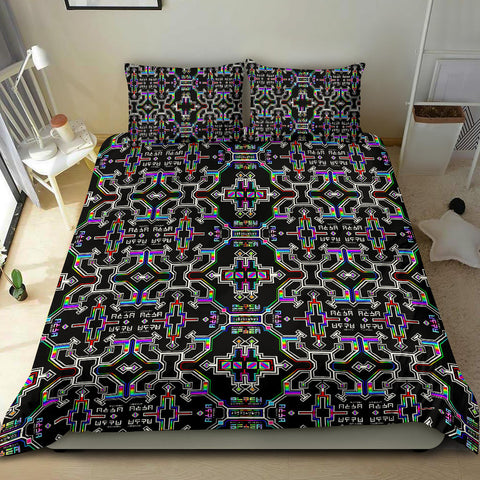 Prismatic Grid Bedding Set