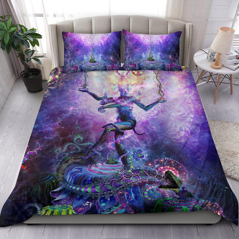 Serpentine Apotheosis (Dancing Shiva) Bedding Set
