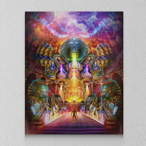 "Stretched Canvas Print of ""As Within, So Without"""