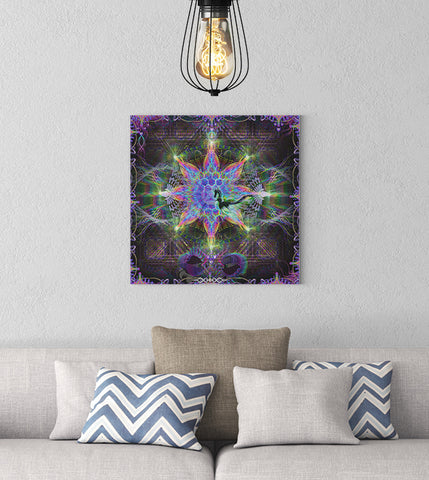 "Stretched Canvas Print of ""Harmalan Fable"""