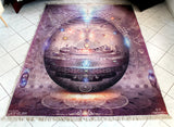 "Meditation Rug / Carpet of ""The Cosmic Egg"""