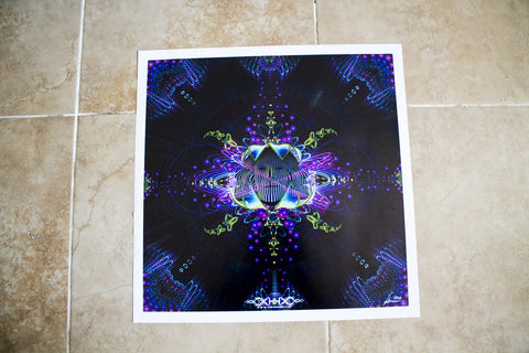"Discounted Paper Print of ""Subatomic Neuronaut"""