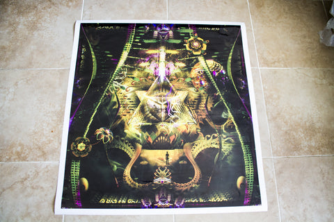"Discounted Sticker Print of ""Renouncing Redemption"""