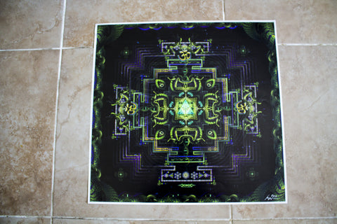 "Discounted Paper Print of ""Divine Yantra"""