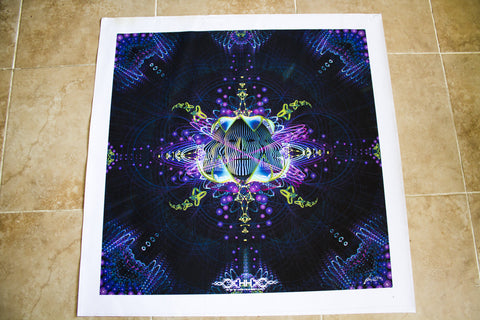 "Discounted Canvas Print of ""Subatomic Neuronaut"""