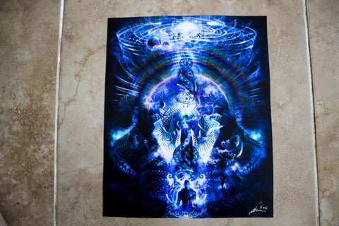 "Discounted Paper Print of ""Cosmic Ascension"""