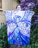 "Lycra Tapestry of ""Astral Beings"""