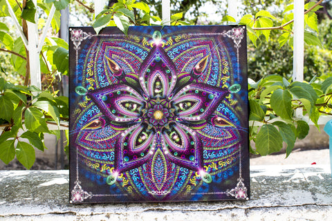 Moksha Stretched Canvas Print