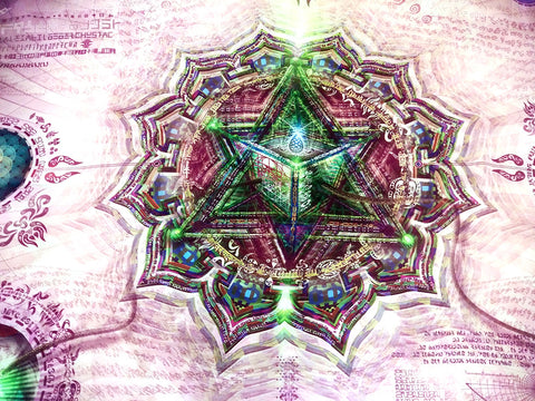 Veil tapestry of Anahata Chakra