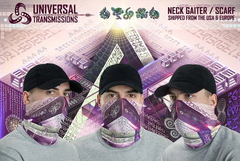 Translinguistic Equation Neck Gaiter