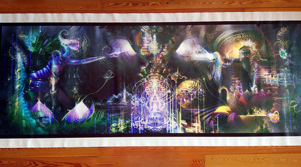 Sacred Symbiosis Archival Print