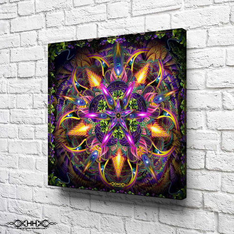 "Stretched Canvas Print of ""Sylvan Perception"""