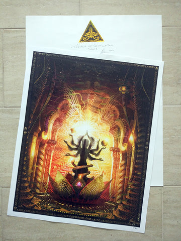 "Limited Edition Print of ""Temple of Scintillated Sights"""
