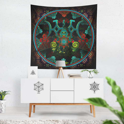"XL Tapestry / Backdrop of ""Tengri"" FREE SHIPPING"