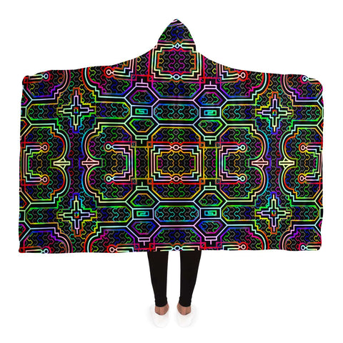 Icaro Hooded Blanket