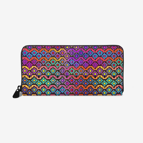 Rainbow Healing Leather Wallet