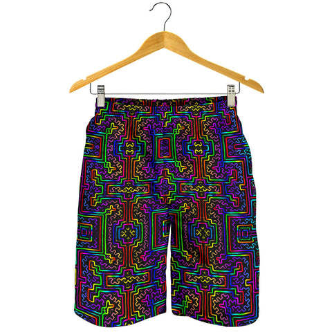 Prismatic Overlay Men's Shorts