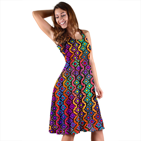 Rainbow Healing Women's Dress