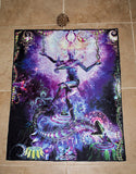 "Lycra Tapestry / Backdrop of ""Dancing Shiva"""