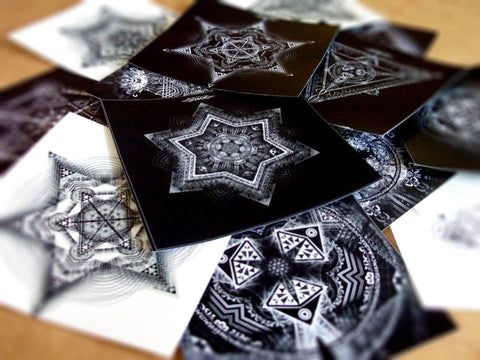 Mixed Sacred Geometry Sticker Pack