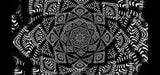 Tribal Black & White Mandala Loop Pack