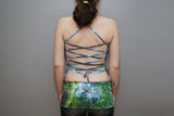 Ladies Lattice Halter Top - Axis Mundi (LIMITED EDITION)