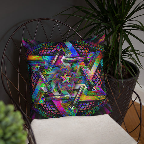 Hyperdimensional Harmonics Pillow