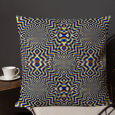 Chromadelic Premium Pillow