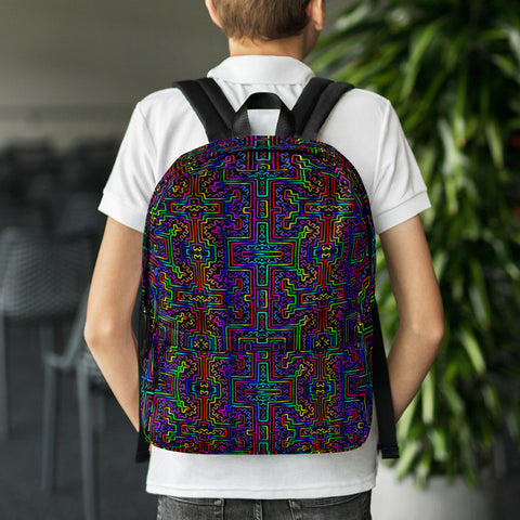 Prismatic Overlay Backpack