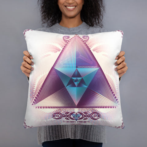 Sacred Prism Pillow
