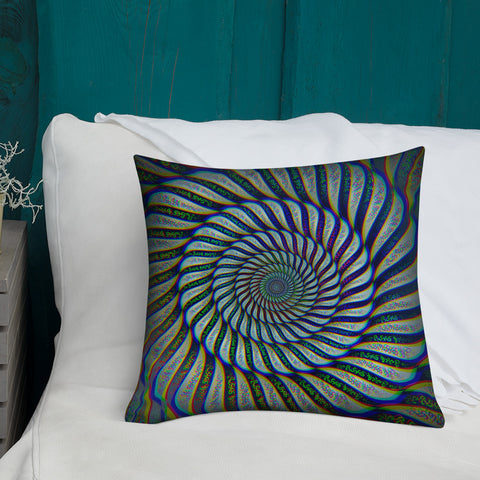 Phonetic Vortex Pillow