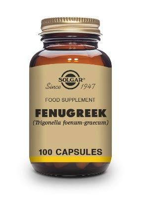 Solgar Fenugreek Vegetable Capsules - Pack of 100