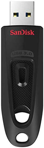 SanDisk Ultra 32 GB USB Flash Drive USB 3.0 Up to 100 MB/s Read Single Black