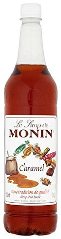 Monin Premium Caramel Syrup, 1L 1 l (Pack of 1)