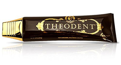 Theodent Premium Classic Fluoride Free Cocoa Whitening Crystal Mint Tooth Paste, 96.4 g
