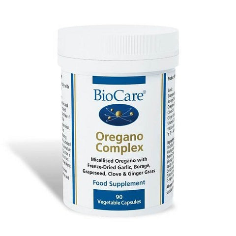 BioCare Oregano Complex 90 Capsules Pack of 1