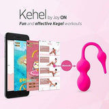 Kegel Exerciser with APP & Vibration: Doctor Recommended Kegel Balls for Tightening & Pelvic Floor Exercises for Beginners & Advanced – Women can Now do Kegels Effectively with Kehel by Joy ON Toys