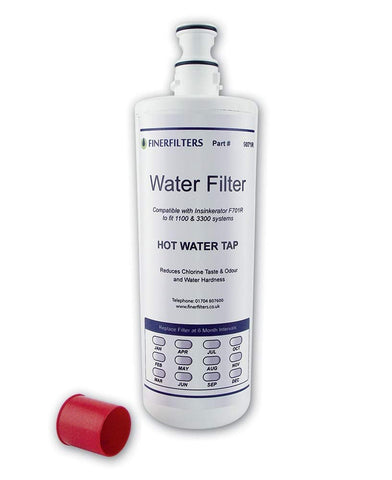 Finerfilters Insinkerator-Water Filter Compatible- F701R,Fits A1 or A3 Head, Unlike Other Compatibles This Filter Is Guaranteed To Fit Your Existing Insinkerator System, Save £££'S