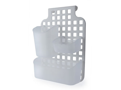 Plastic Over Cabinet Kitchen Cupboard Door Storage Baskets Bathroom Shower Screen Caddy Tidy Organiser