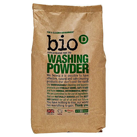 Bio D Concentrated Washing Powder (2kg) Pack of 1