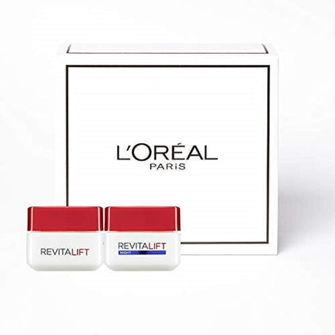 L'Oreal Paris Revitalift Anti Ageing Skincare Regime Set Day and Night Cream Anti-Ageing Skincare Regime Set