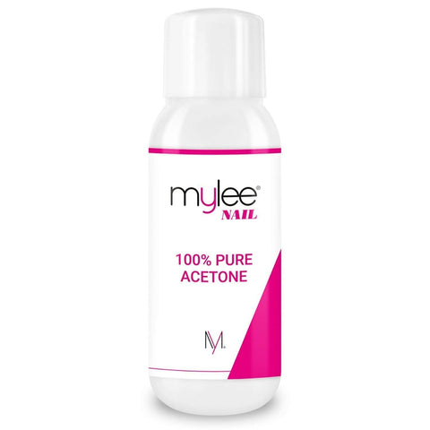 Mylee 100% Pure Acetone 300ml High Quality Nail Polish Remover for UV/LED Gel Soak Off (Pack of 1) Pack of 1