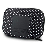 USA Gear Diabetic Supplies Travel Case Organizer for Blood Glucose Monitoring Systems, Syringes, Pens, Insulin Vials and Lancets- Storage for Accu-Chek Nano, Bayer Contour, TRUEtest and More-Polka Dot Polka Dot