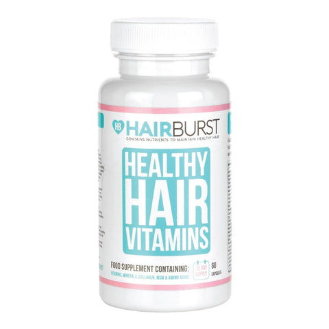 HAIRBURST Hair Growth Vitamins - Biotin Hair Growth Supplement - 1 Month Supply - 60 Capsules - Hair Vitamins To Help You Grow Longer, Stronger More Beautiful Hair