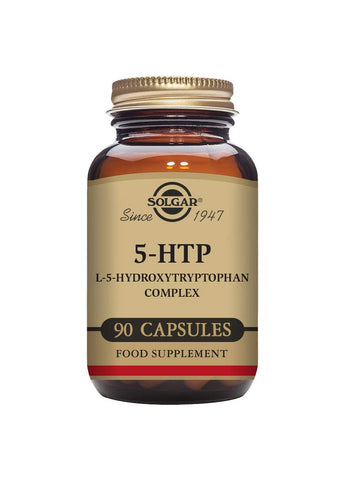 Solgar 5-HTP L-5-Hydroxytryptophan Complex Vegetable Capsules - Pack of 90