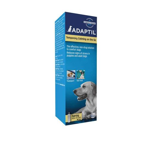 ADAPTIL Calm Transport Spray, helps dog cope with travelling and other short term challenges, 60 ml Only Spray